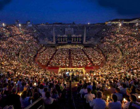 Arena di Verona dove musica ed emozioni si fondono
